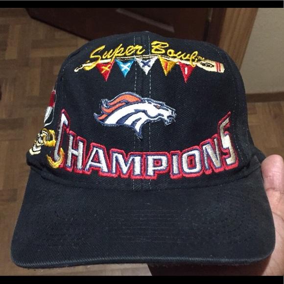 1998 Vintage Denver Broncos Super Bowl Hat. M 5b3786c2819e90a22151be4e 54cb5eea8